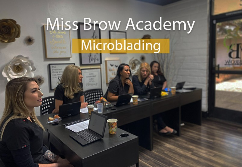 Miss Brow Academy – Microblading, Eyeliner & Lips Treatment Certification